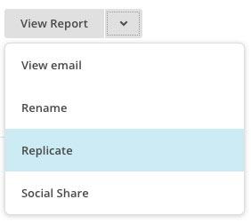 Gensend MailChimp kampagne - Replicate din email