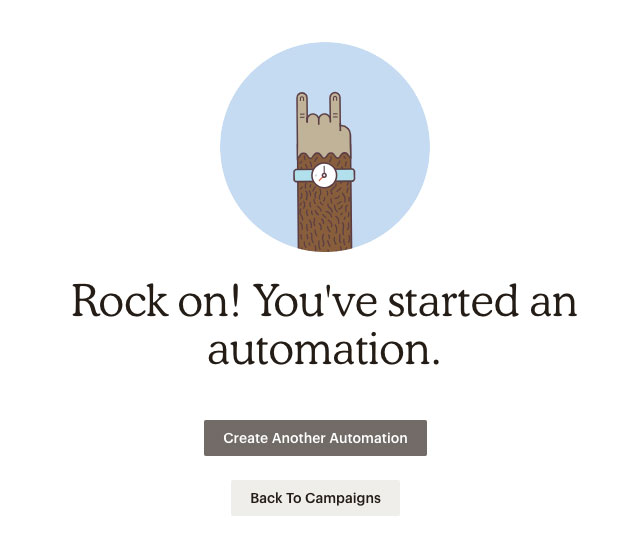 Email Automation - Rock on