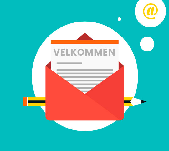 Rediger MailChimp footeren