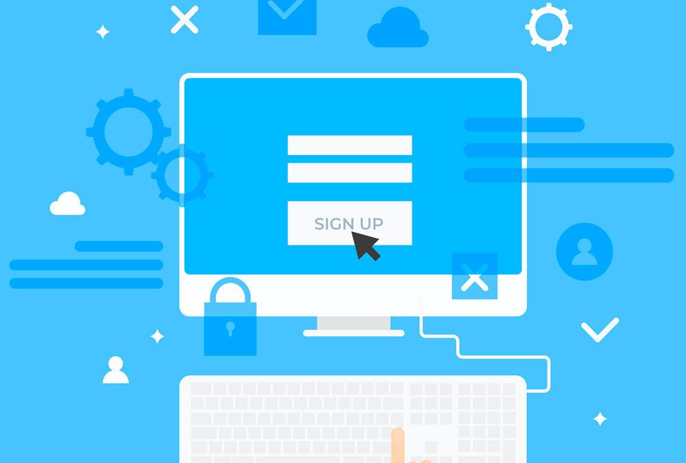Implementer en tilmeldingsformular på din hjemmeside